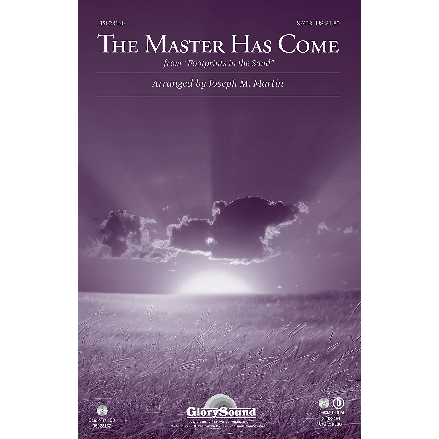 Shawnee Press The Master Has Come (from Footprints in the Sand) ORCHESTRATION ON CD-ROM Arranged by Joseph M. Martin thumbnail