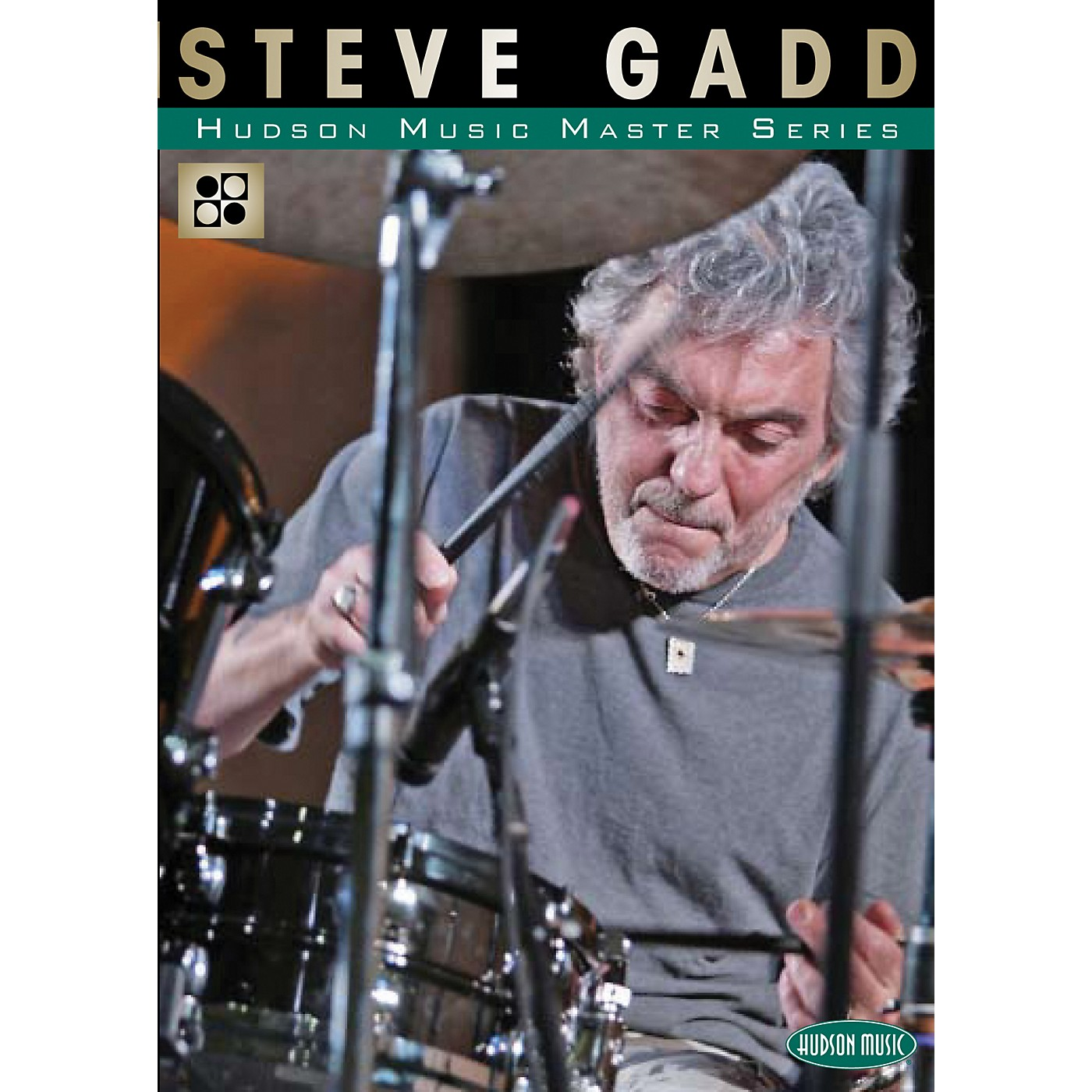 Hudson Music The Master Series - Master Classes by Master Drummers DVD with Steve Gadd thumbnail