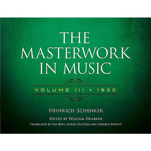 Alfred The Masterwork in Music, Volume III 1930 - Volume III 1930 thumbnail
