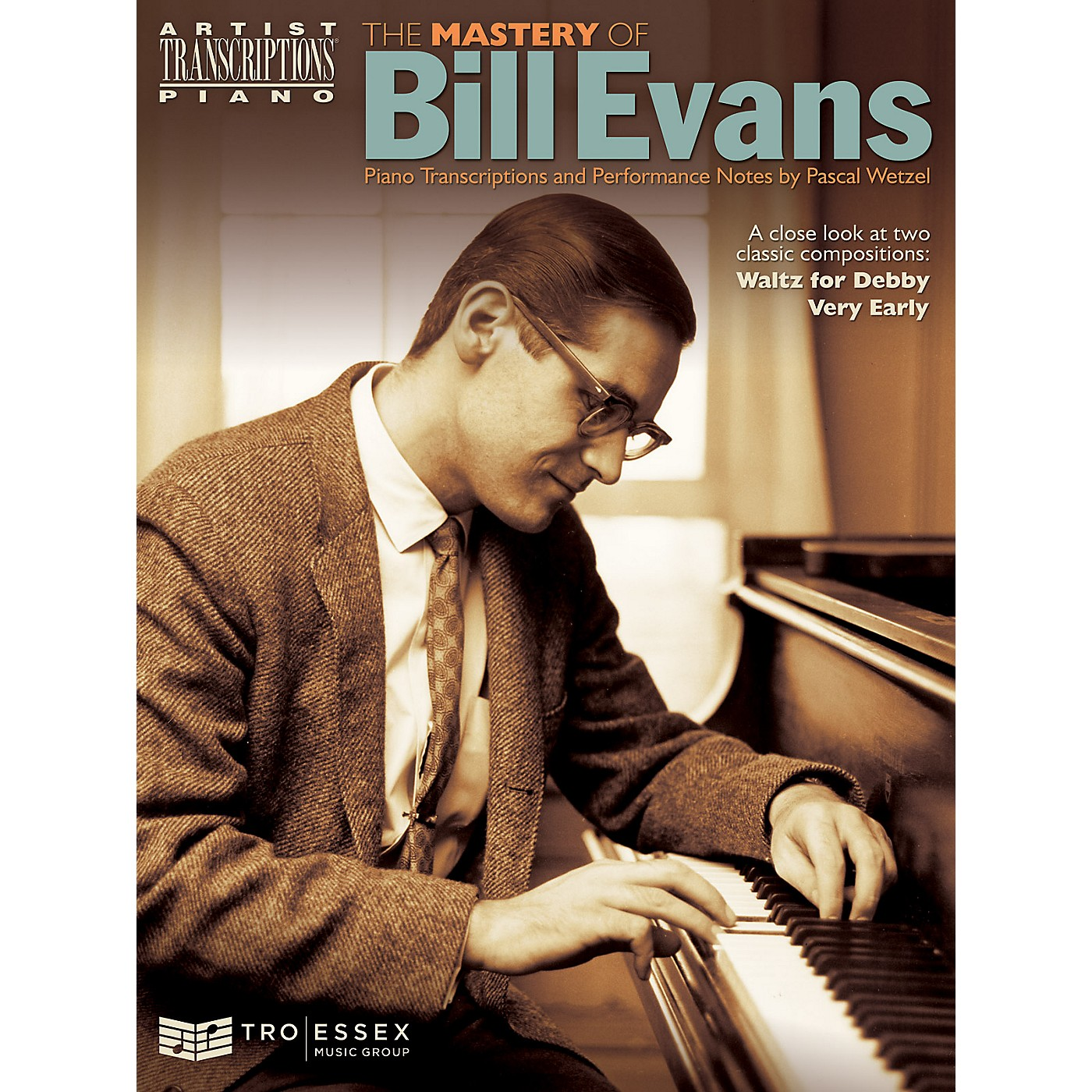 TRO ESSEX Music Group The Mastery of Bill Evans Artist Transcriptions Series Softcover Performed by Bill Evans thumbnail