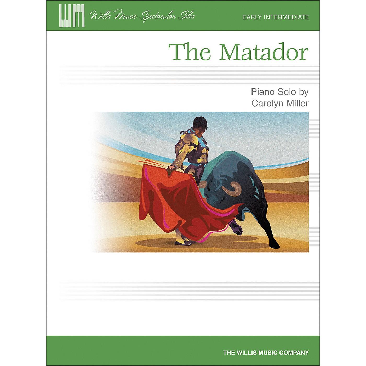 Willis Music The Matador - Early Intermediate Piano Solo Sheet by Carolyn Miller thumbnail