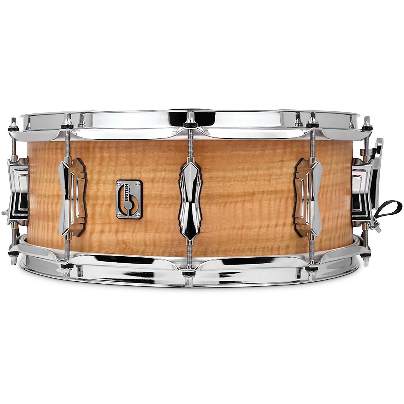 British Drum Co. The Maverick Maple Snare Drum thumbnail