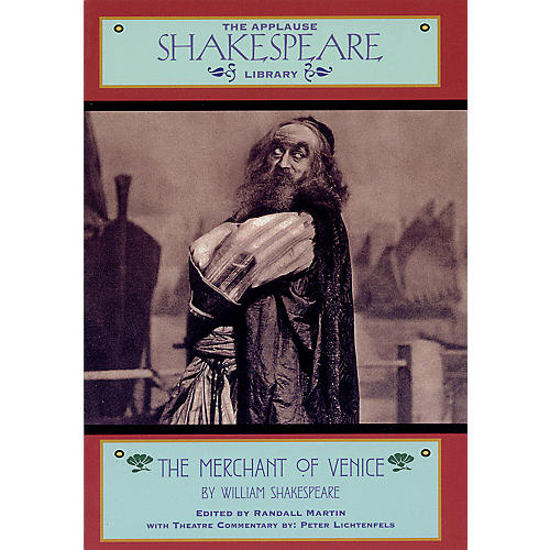 Applause Books The Merchant of Venice Applause Books Series Softcover Written by William Shakespeare thumbnail