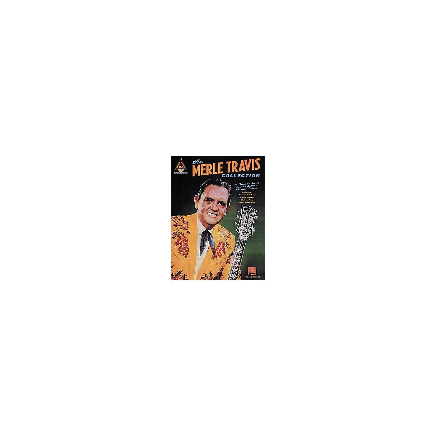 Hal Leonard The Merle Travis Collection Guitar Tab Book thumbnail