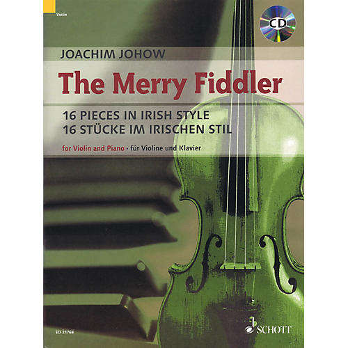 Schott The Merry Fiddler (16 Pieces in Irish Style) String Series Softcover with CD thumbnail