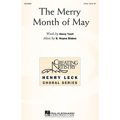 Hal Leonard The Merry Month of May 2-Part composed by B. Wayne Bisbee thumbnail
