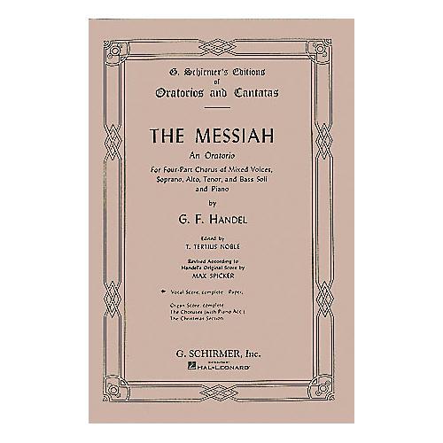 G. Schirmer The Messiah thumbnail