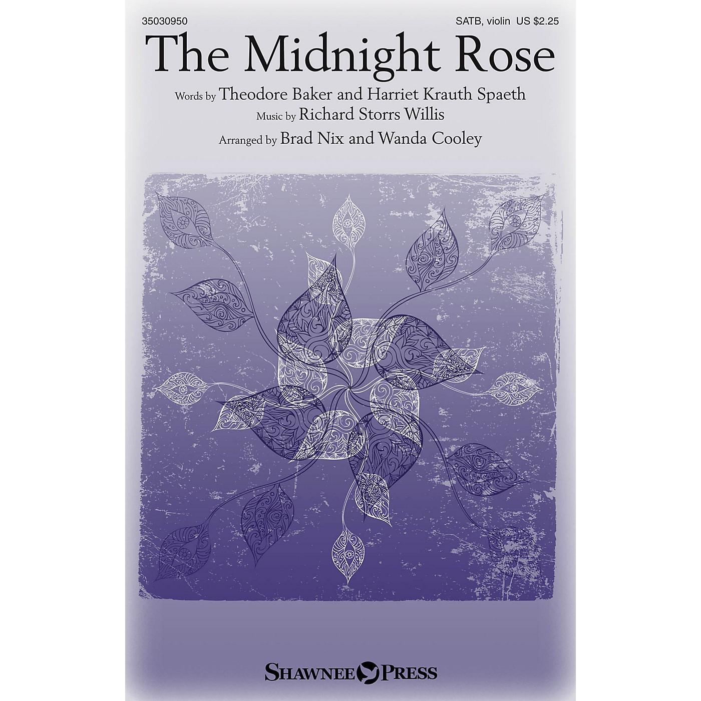 Shawnee Press The Midnight Rose SATB W/ VIOLIN arranged by Brad Nix thumbnail