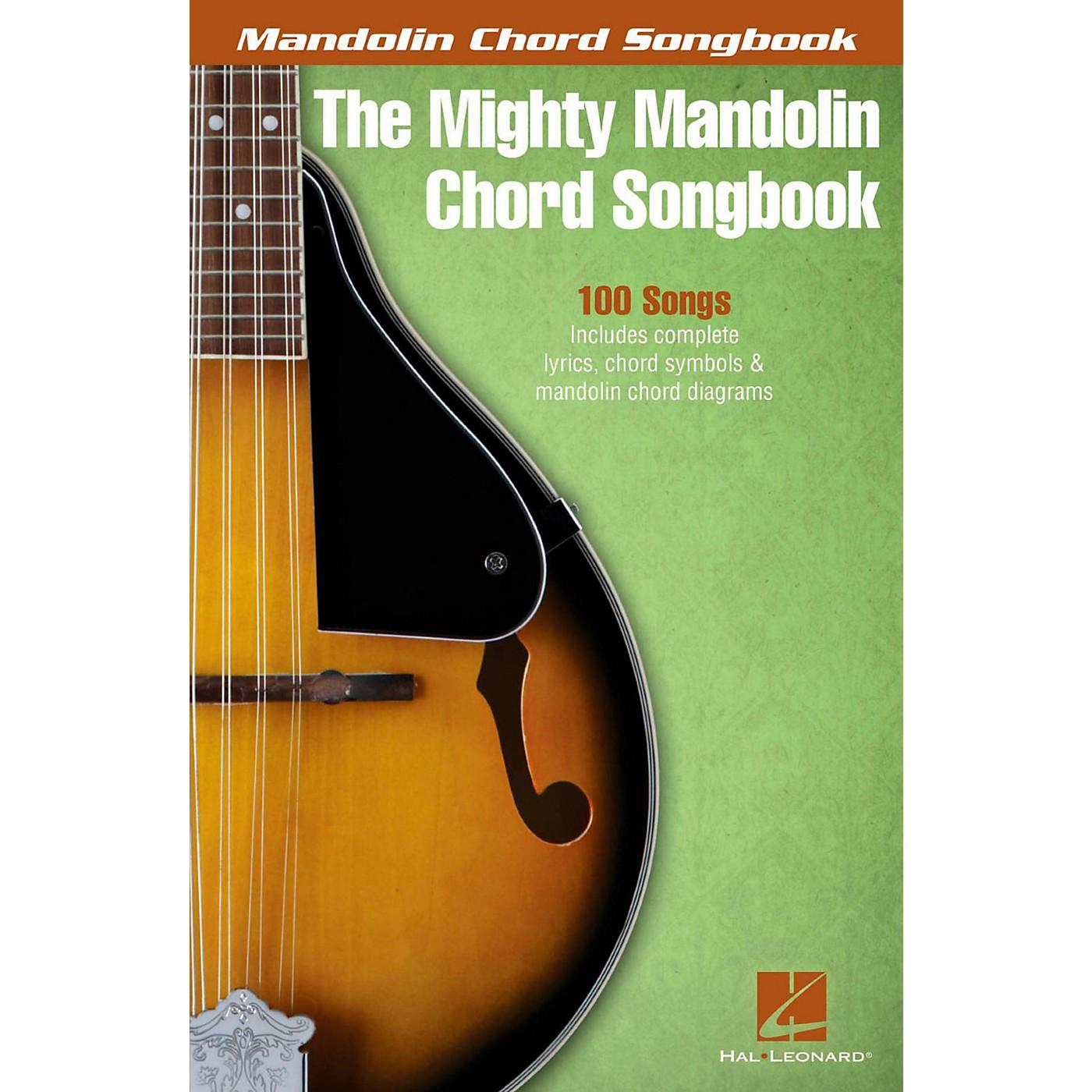 Hal Leonard The Mighty Mandolin Chord Songbook thumbnail