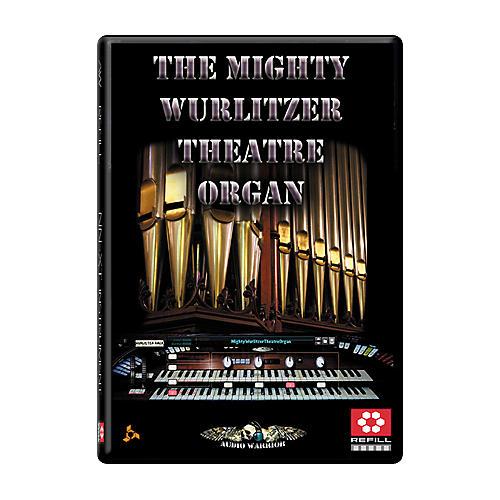 AudioWarrior The Mighty Wurlitzer Theatre Organ Reason Refill thumbnail