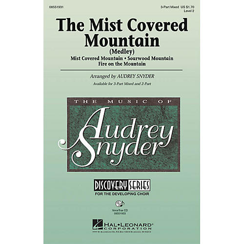 Hal Leonard The Mist Covered Mountain (Medley) VoiceTrax CD Arranged by Audrey Snyder thumbnail