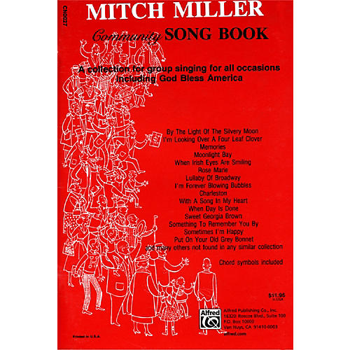 Alfred The Mitch Miller Community Songbook thumbnail