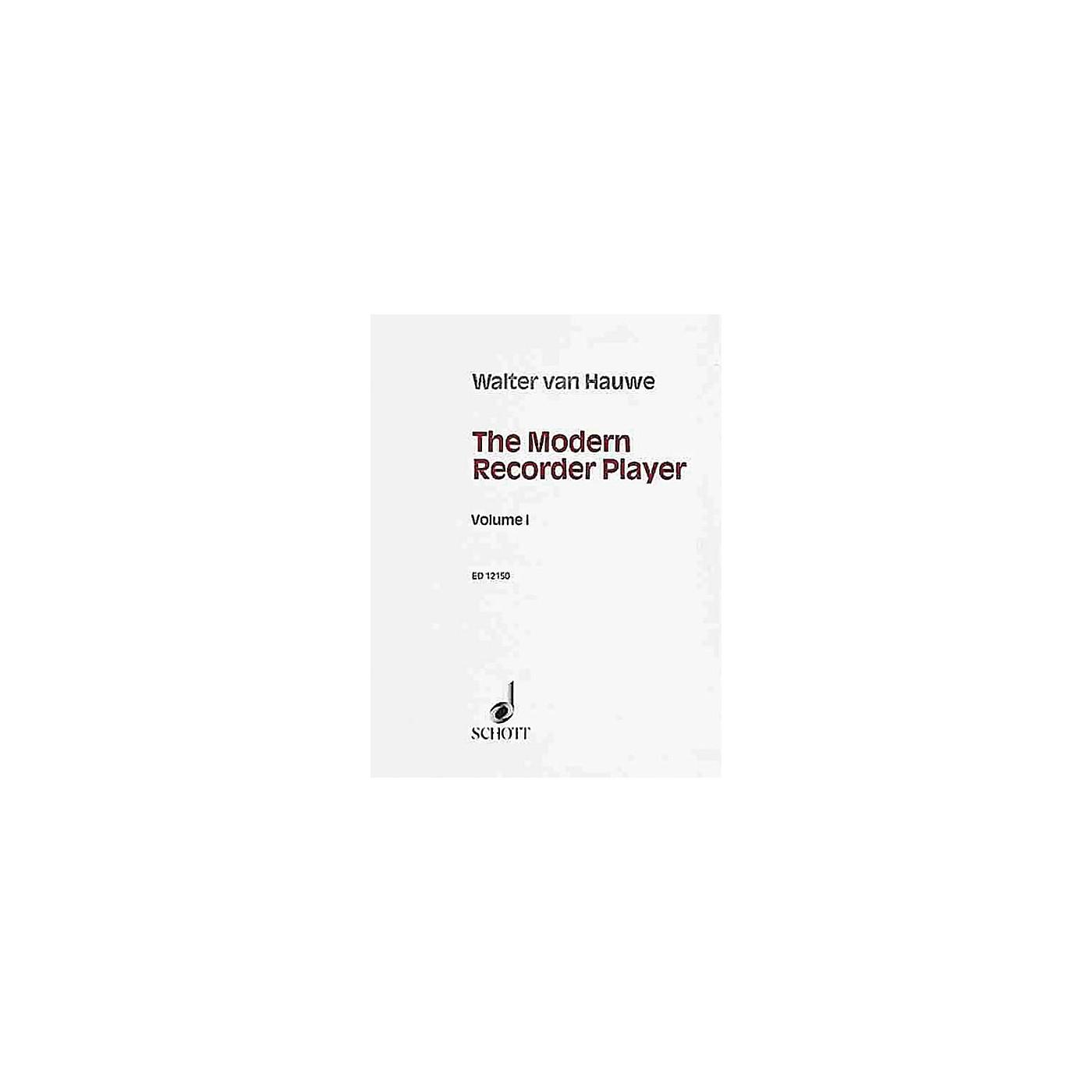 Schott The Modern Recorder Player (Treble Recorder - Volume 1) Schott Series thumbnail