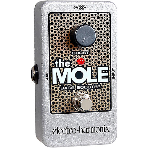 Electro-Harmonix The Mole Bass Booster Effects Pedal thumbnail