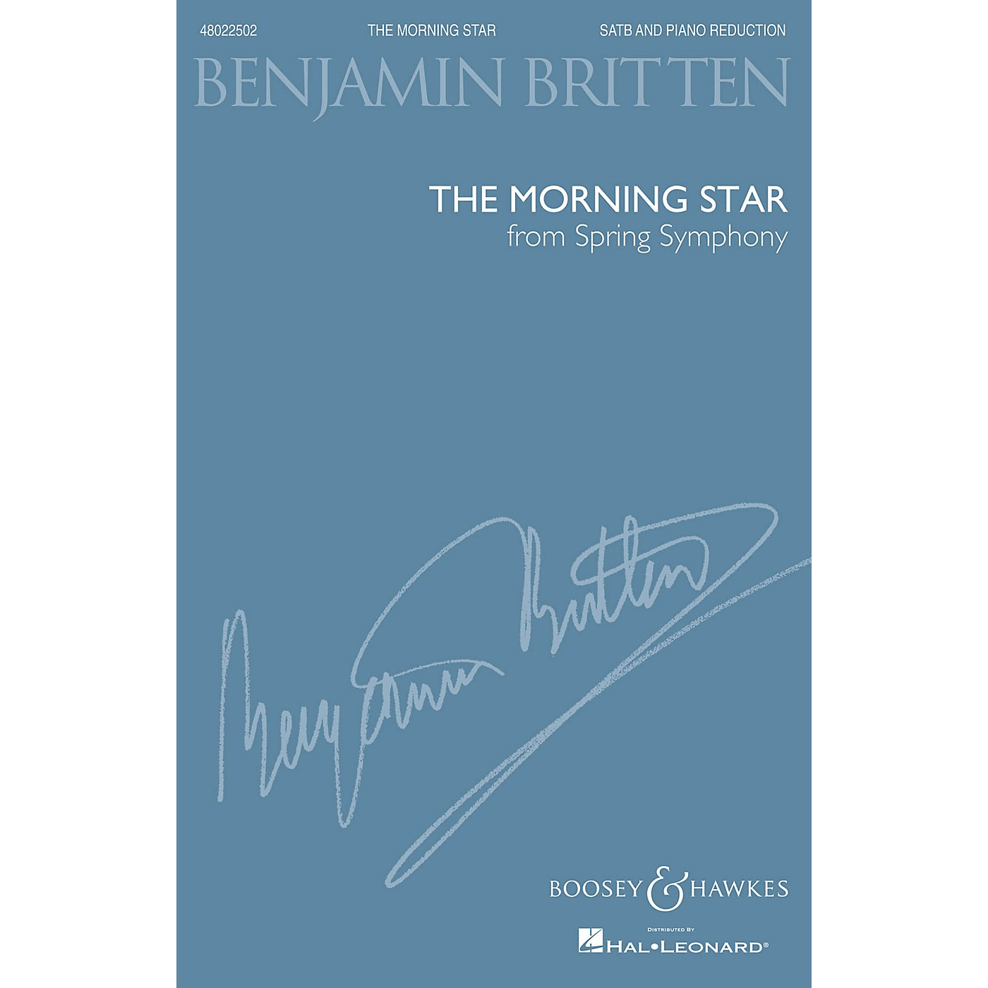 Boosey and Hawkes The Morning Star (from Spring Symphony, Op. 44) (SATB and Piano Reduction) by Benjamin Britten thumbnail