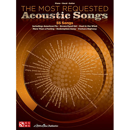 Cherry Lane The Most Requested Acoustic Songs P/V/G Songbook thumbnail