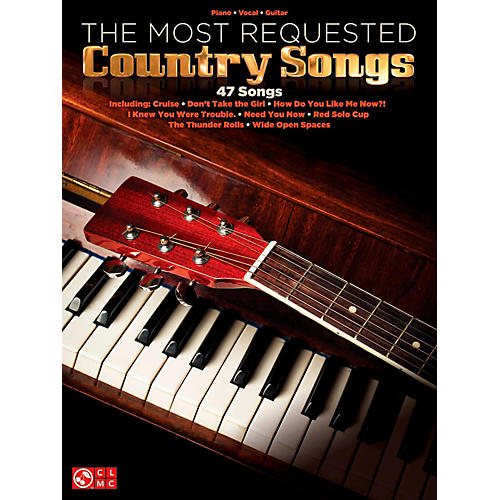 Hal Leonard The Most Requested Country Songs Piano/Vocal/Guitar Songbook thumbnail