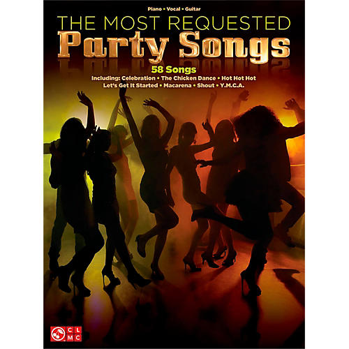 Cherry Lane The Most Requested Party Songs Piano/Vocal/Guitar Songbook thumbnail