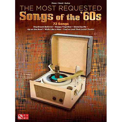 Cherry Lane The Most Requested Songs Of The '60s for Piano/Vocal/Guitar PVG thumbnail