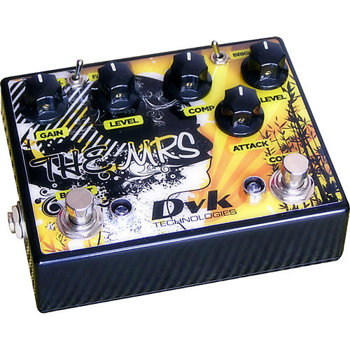 DVK The Mrs. Compressor and Boost Guitar Effects Pedal-thumbnail