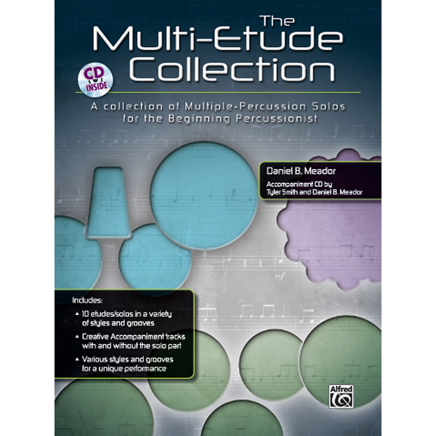 Alfred The Multi-Percussion Etude Collection Book & CD thumbnail