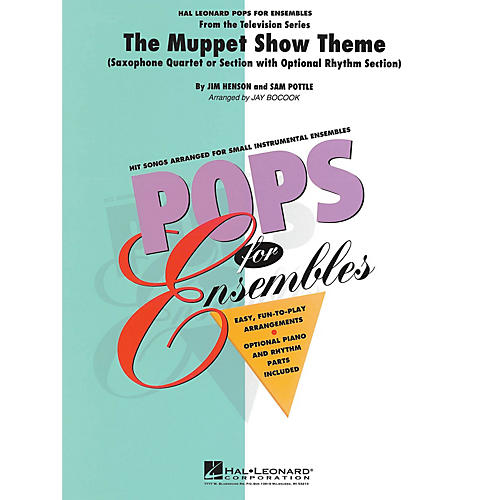 Hal Leonard The Muppet Show Theme Concert Band Level 2-3 Arranged by Jay Bocook thumbnail
