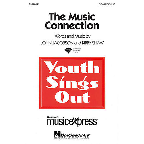 Hal Leonard The Music Connection ShowTrax CD Composed by John Jacobson thumbnail