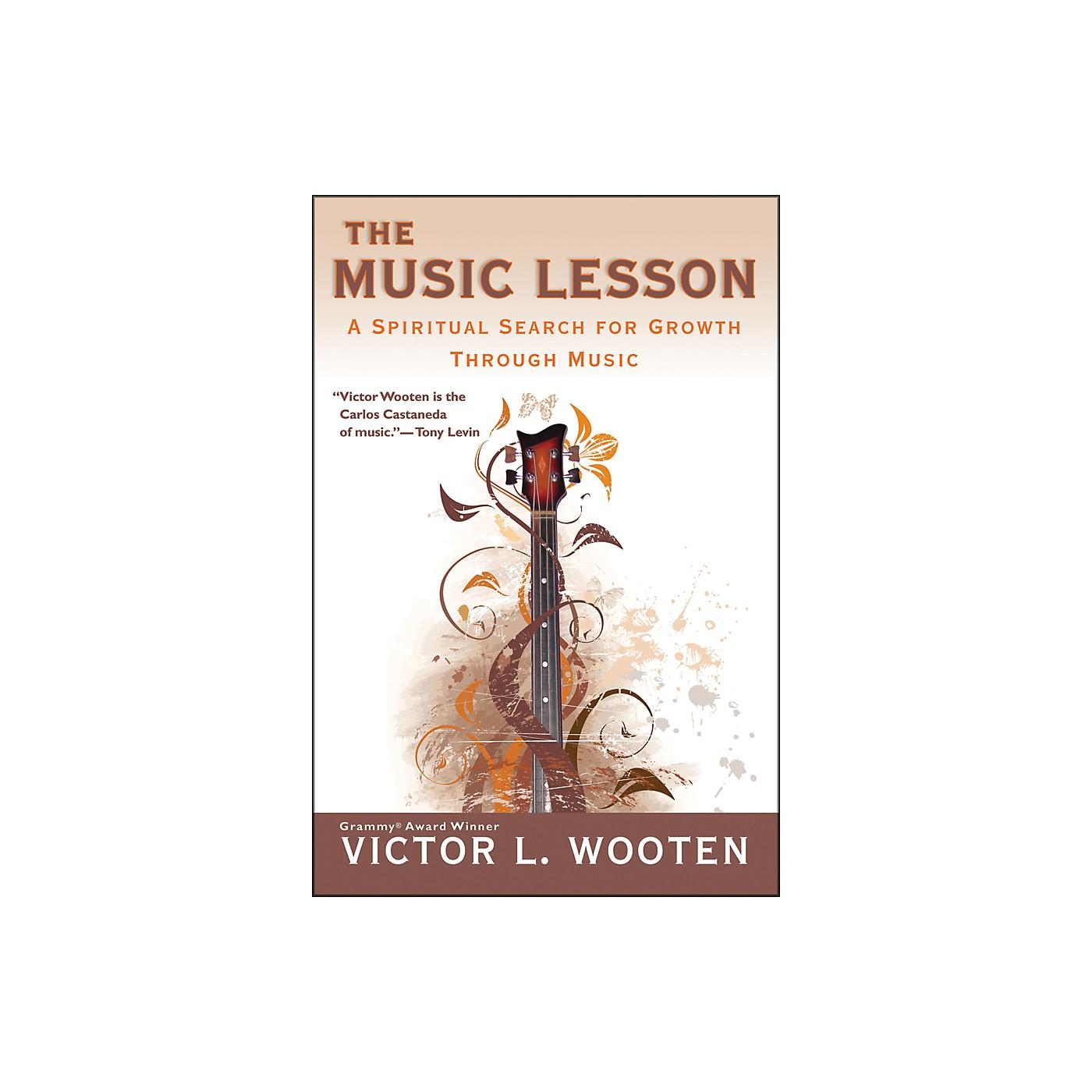 Penguin Books The Music Lesson Book - A Spiritual Search For Growth Through Music thumbnail