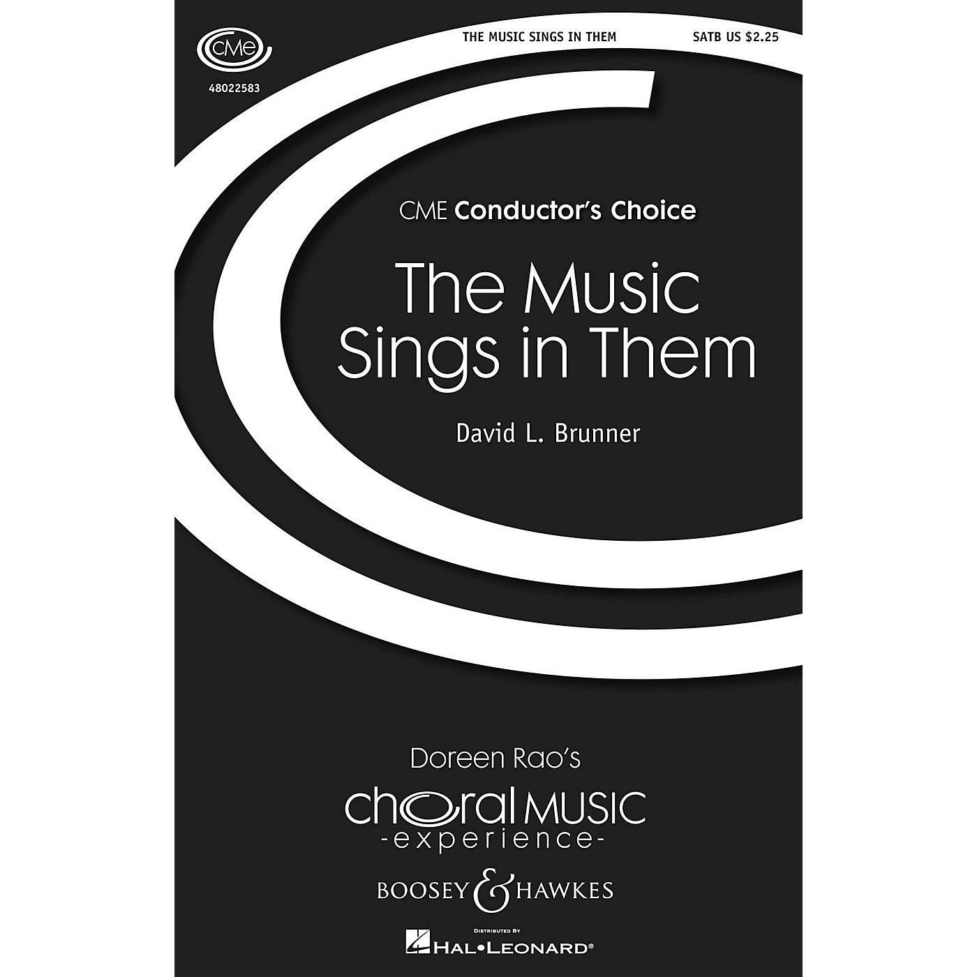 Boosey and Hawkes The Music Sings in Them (CME Conductor's Choice) SATB composed by David L. Brunner thumbnail
