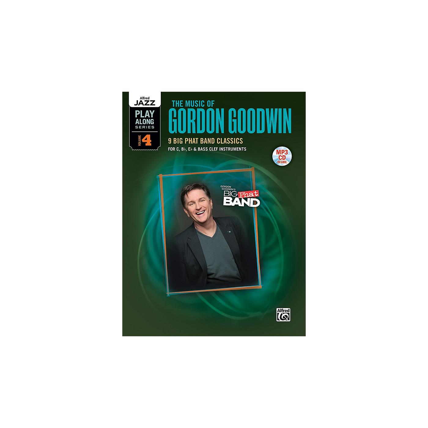 Alfred The Music of Gordon Goodwin Flexible Instrumentation Book & MP3 CD thumbnail