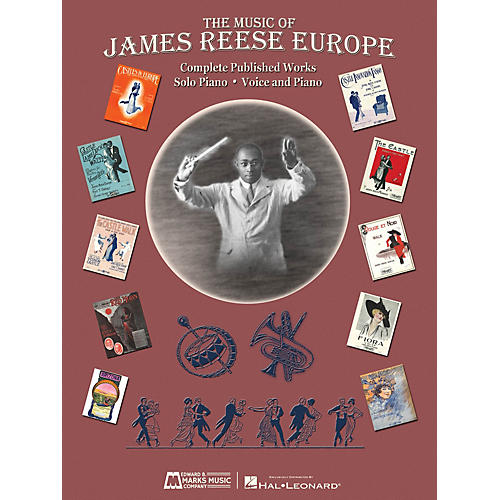 Edward B. Marks Music Company The Music of James Reese Europe E.B. Marks Series Softcover Composed by James Reese Europe thumbnail