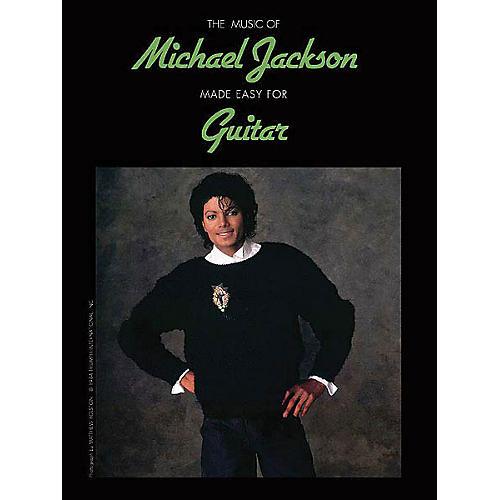 Alfred The Music of Michael Jackson Made Easy for Guitar Easy Guitar Series Softcover by Michael Jackson thumbnail