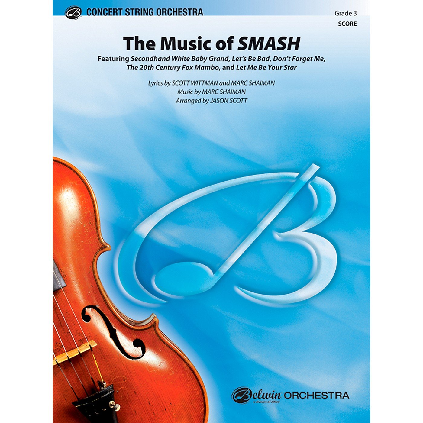 Alfred The Music of SMASH Concert String Orchestra Grade 3 Set thumbnail