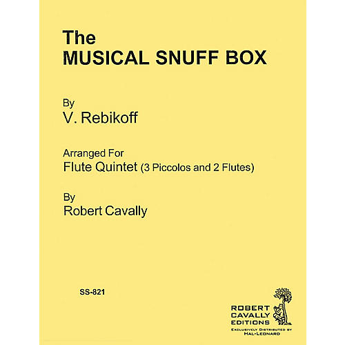 Hal Leonard The Musical Snuff Box Robert Cavally Editions Series Softcover Arranged by Robert Cavally thumbnail