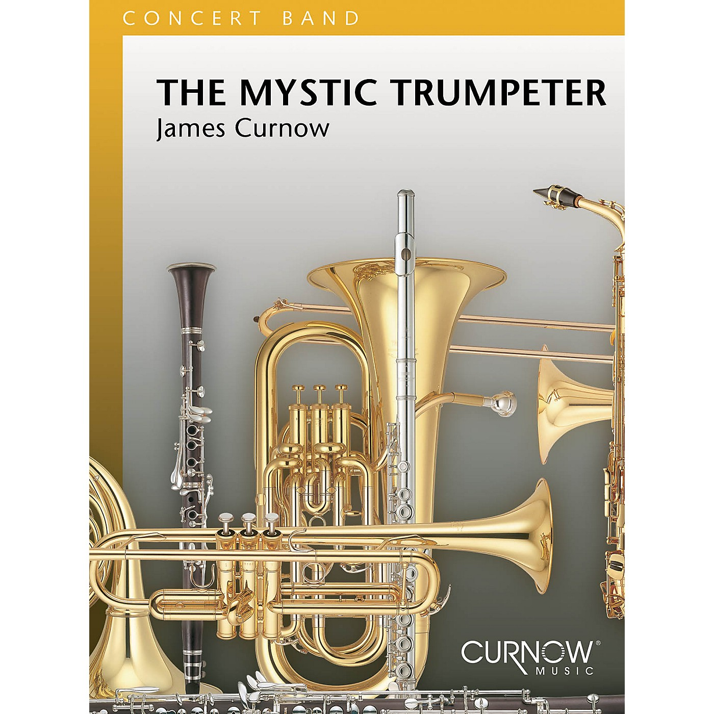 Curnow Music The Mystic Trumpeter (Grade 4 - Score and Parts) Concert Band Level 4 Composed by James Curnow thumbnail