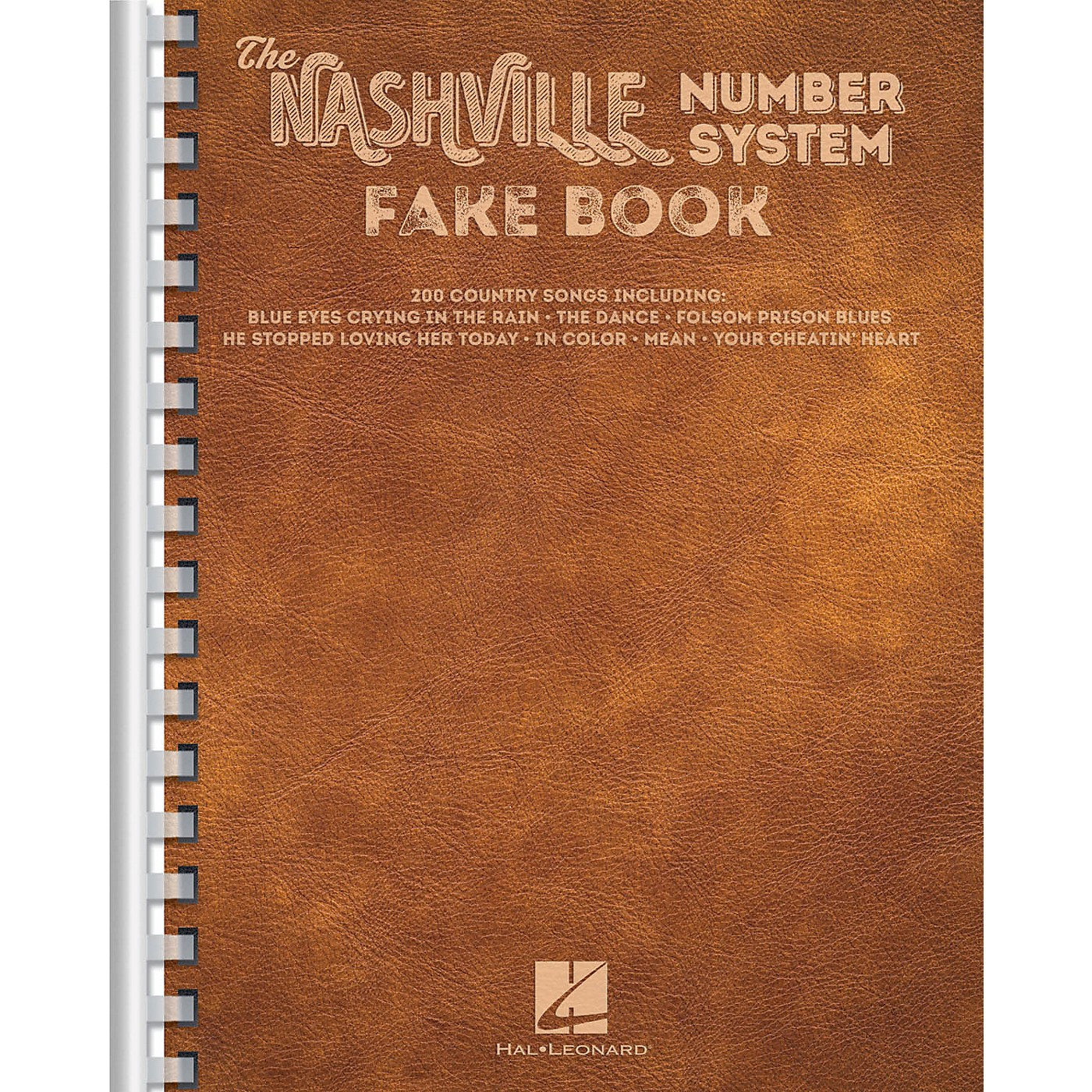 Hal Leonard The Nashville Number System Fake Book Fake Book Series Softcover Performed by Various thumbnail