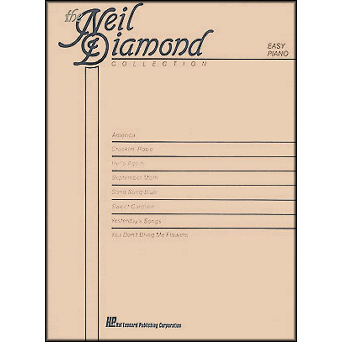 Hal Leonard The Neil Diamond Collection arranged for piano, vocal, and guitar (P/V/G) thumbnail