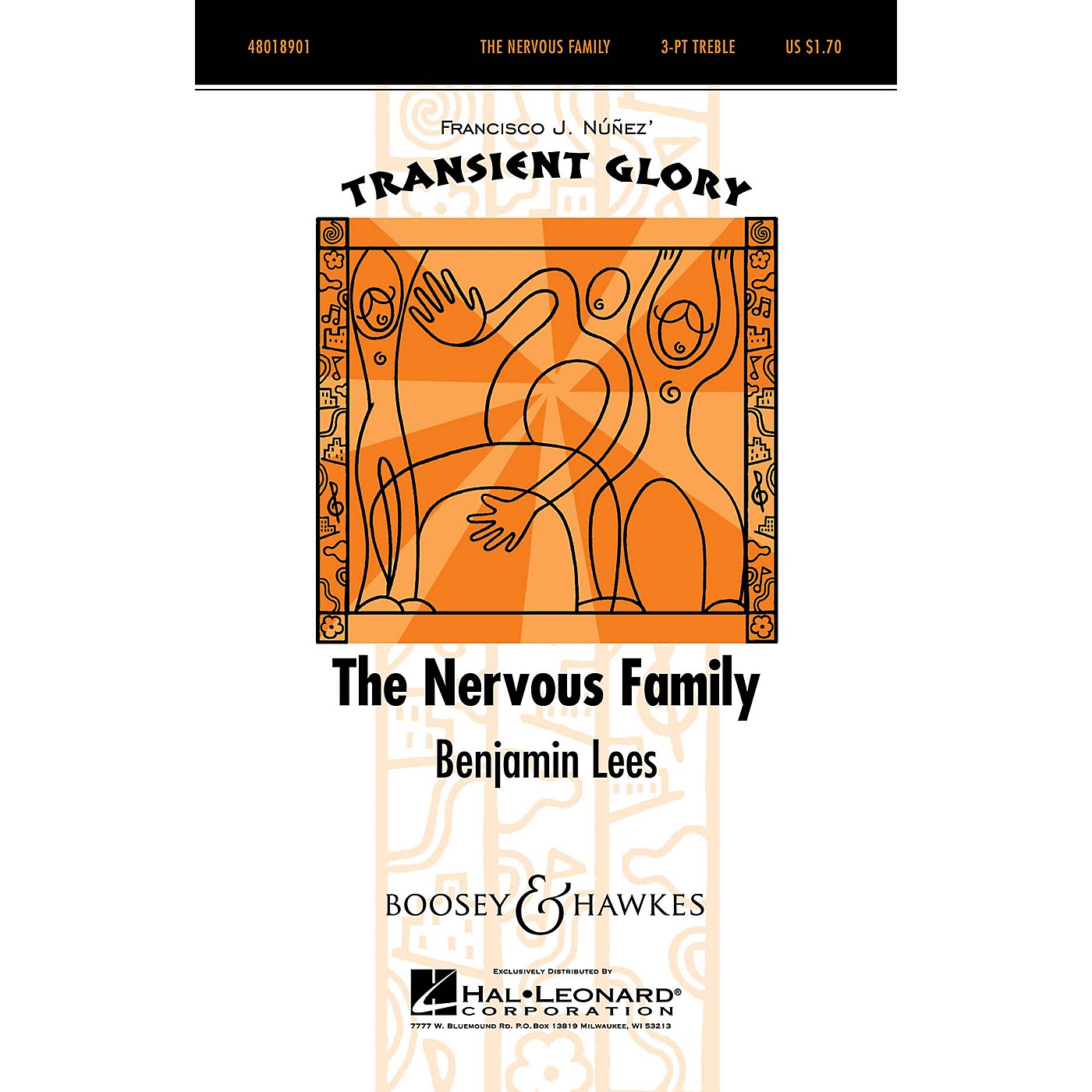 Boosey and Hawkes The Nervous Family (Transient Glory Series) SSA A Cappella composed by Benjamin Lees thumbnail