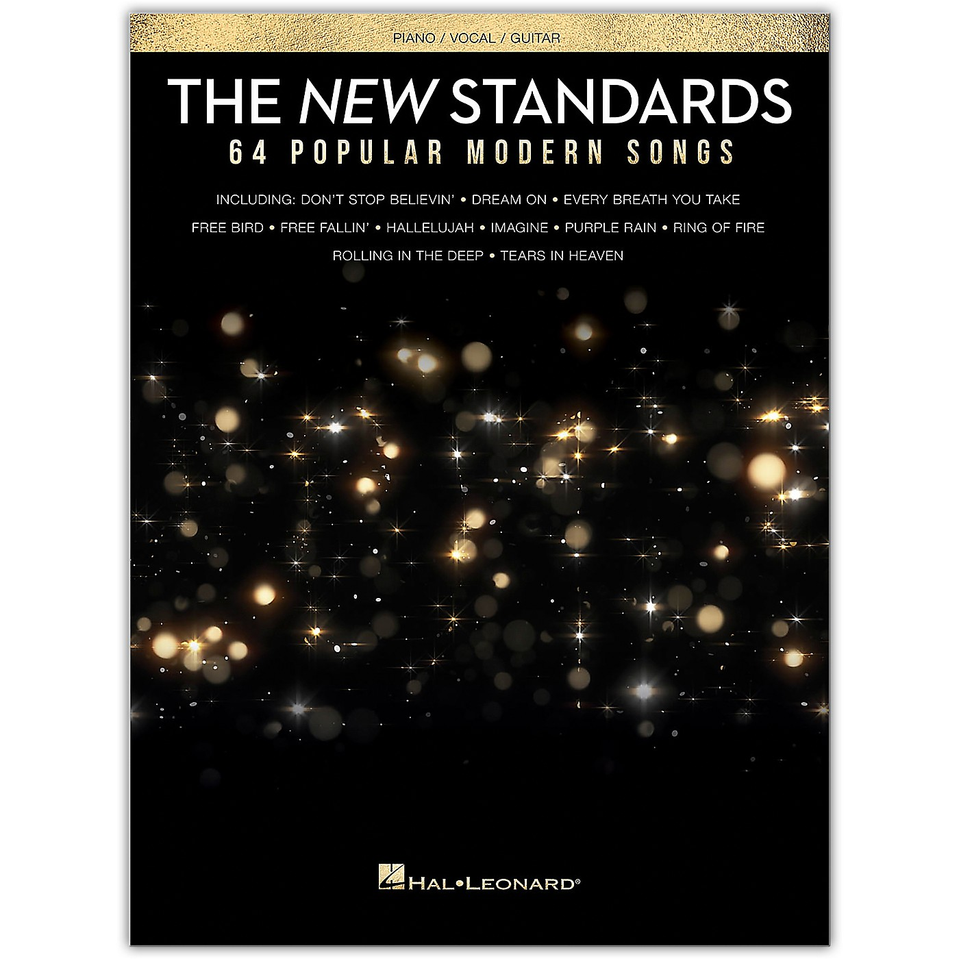 Hal Leonard The New American Songbook - 64 Popular Modern Songs Piano/Vocal/Guitar Songbook thumbnail