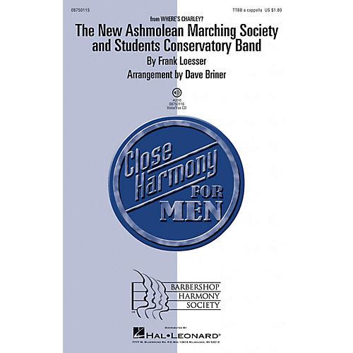 Barbershop Harmony Society The New Ashmolean Marching Society and Students Conservatory Band TTBB by David Briner thumbnail