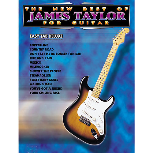 Alfred The New Best of James Taylor for Guitar Tab Book thumbnail