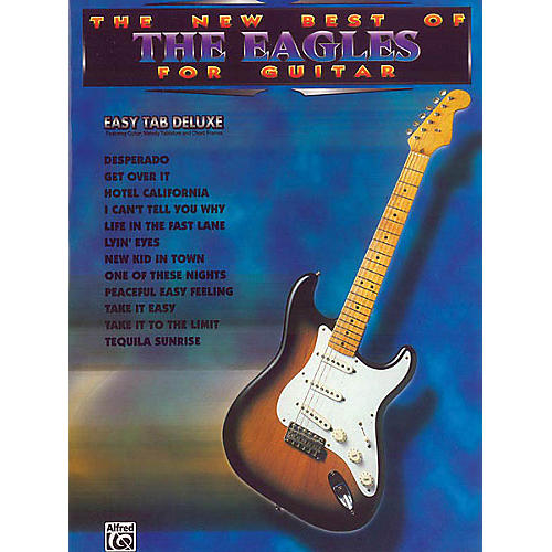 Alfred The New Best of the Eagles for Guitar (Easy Guitar) Easy Guitar Series Softcover Performed by Eagles thumbnail