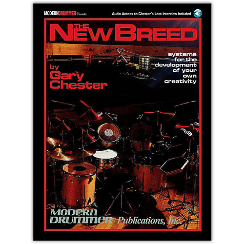 Modern Drummer The New Breed - Systems For The Development of Your Own Creativity (Book/Online Audio) thumbnail