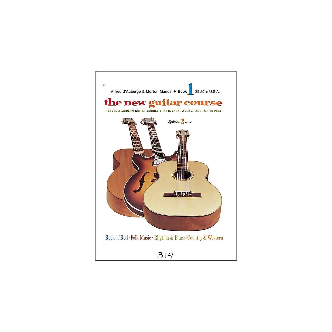 Alfred The New Guitar Course Book 1 thumbnail