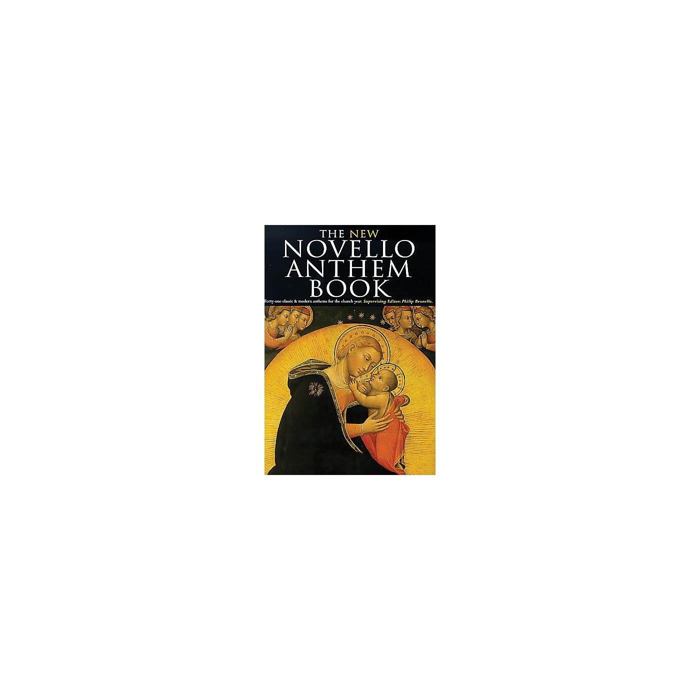 Novello The New Novello Anthem Book SATB thumbnail