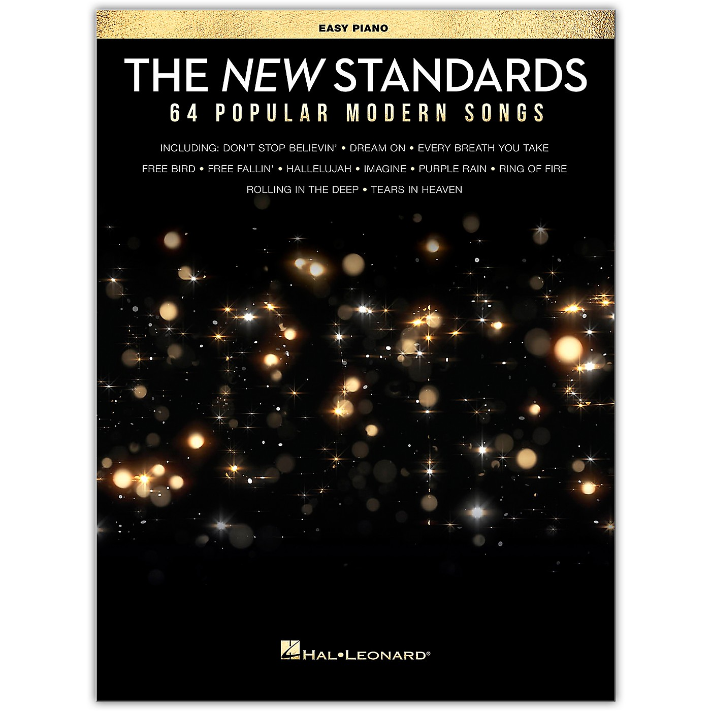 Hal Leonard The New Standards (64 Popular Modern Songs) Easy Piano Songbook thumbnail