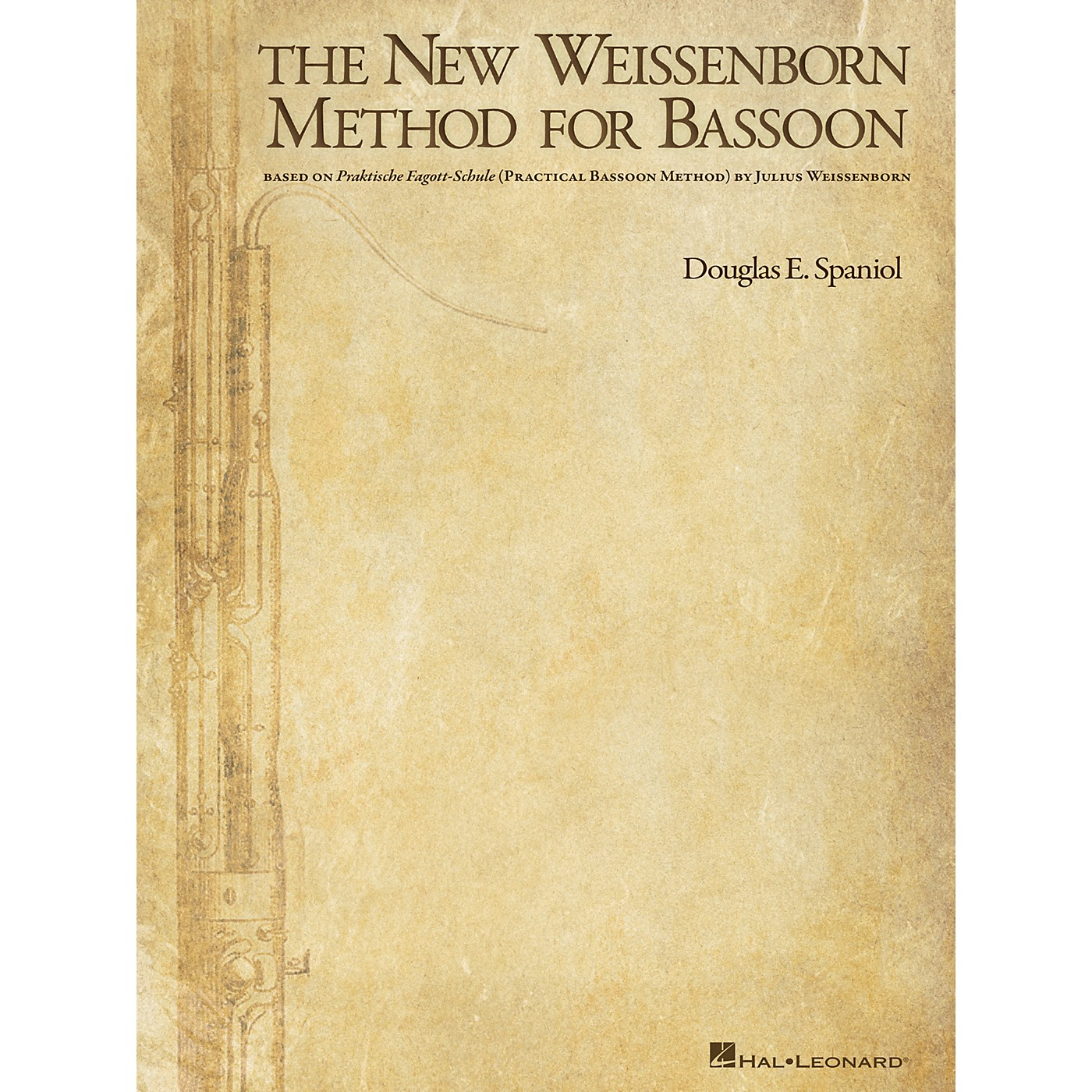 Hal Leonard The New Weissenborn Method for Bassoon Instructional Series Softcover Written by Douglas Spaniol thumbnail