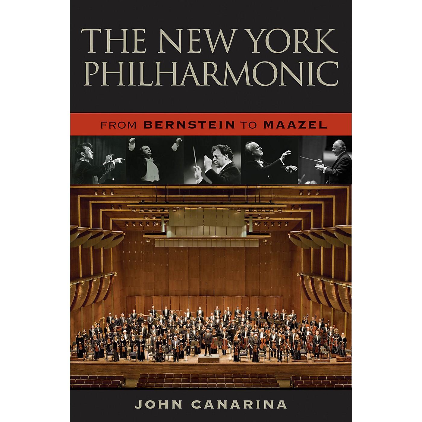 Amadeus Press The New York Philharmonic (From Bernstein to Maazel) Amadeus Series Hardcover Written by John Canarina thumbnail