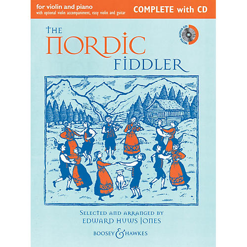 Boosey and Hawkes The Nordic Fiddler (Complete Edition with CD) Boosey & Hawkes Chamber Music Series Softcover with CD thumbnail