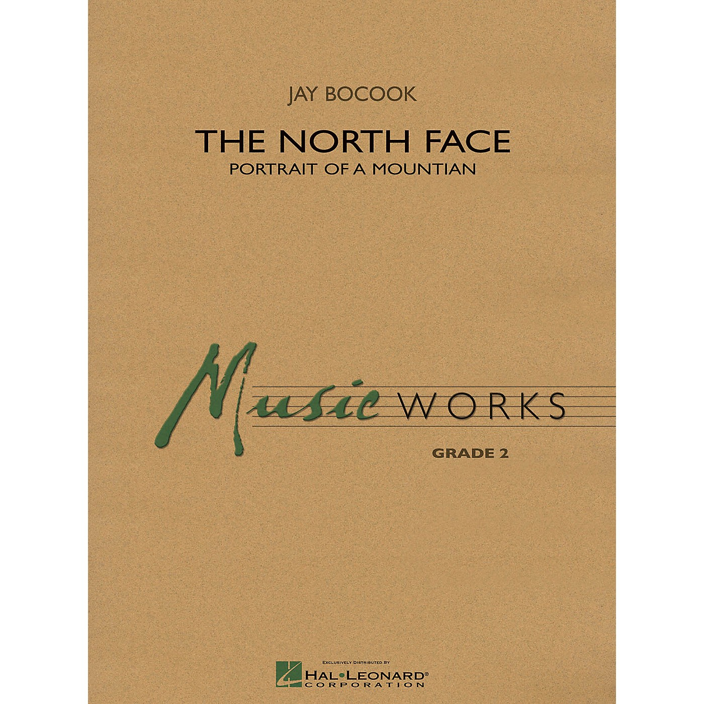 Hal Leonard The North Face Concert Band Level 3 Composed by Jay Bocook thumbnail